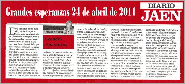 04.- 24-04-2011 Grandes esperanzas