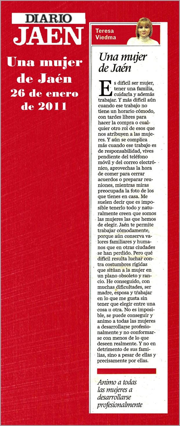 16.- 26-01-2012 Una mujer de Jaén