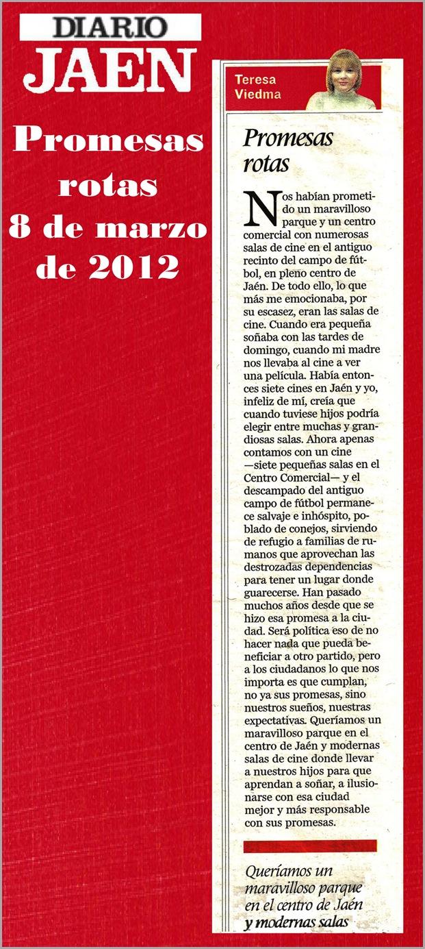 19.- 08 03 2012 Promesas rotas