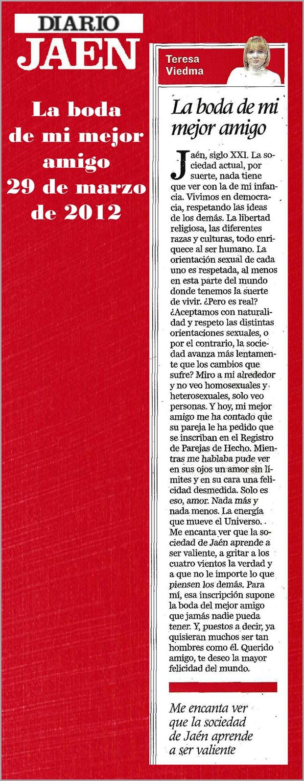 21.- 29 03 2012 LA BODA DE MI MEJOR AMIGO
