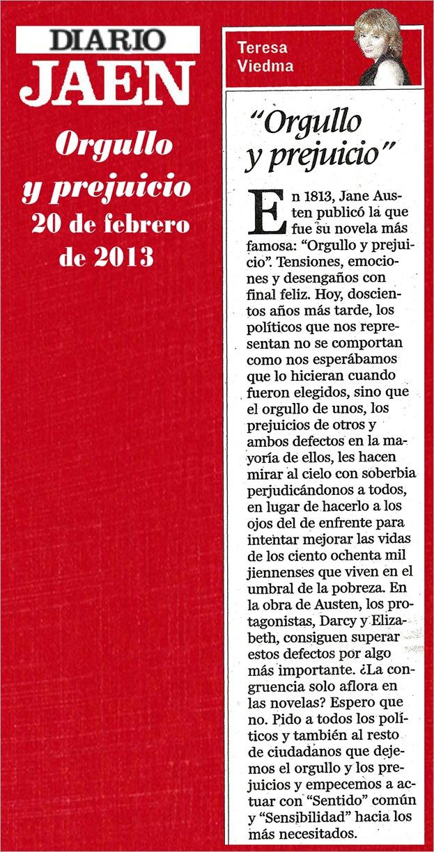 20022013 ORGULLO Y PREJUICIO