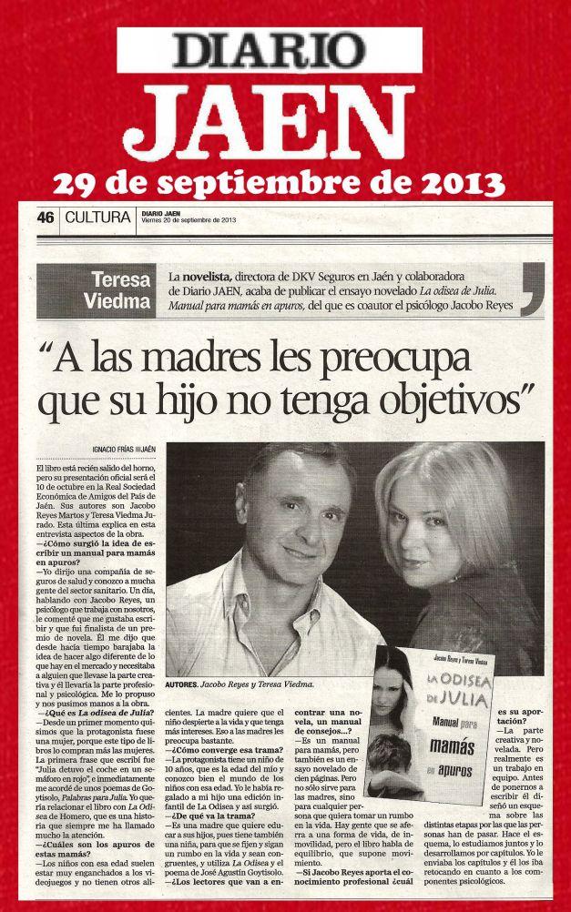 Diario JaénLA ODISEA DE JULIA