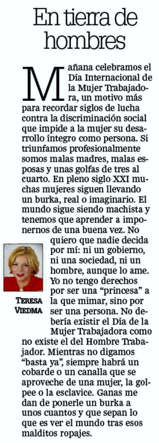 EN TIERRA DE HOMOBRES 07.03.2016